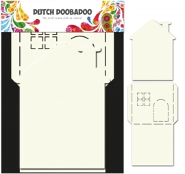 CE185071/3510- Dutch Doobadoo Dutch card art stencil huis 2-delig A4