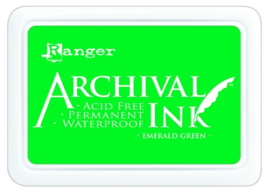 CE306010/0447- Ranger archival ink pad - emerald green