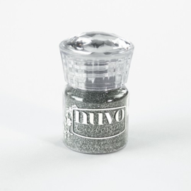 CE135010/0597- Nuvo glitter embossing poeder silver moonlight