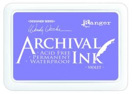 CE306014/5687- Ranger archival ink pad - violet