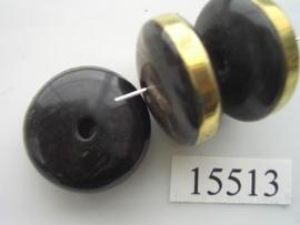 benen kraal discus plat 25x12mm 15513
