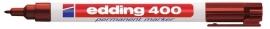 CE390400/0007- Edding-400 permanent marker met punt van 1mm bruin