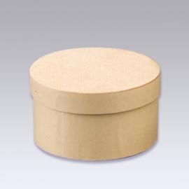 8735 745- 6 stuks kartondoos natuur 8.5x4.3cm