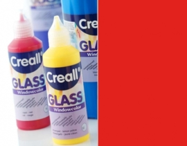 CE301800/0515- Creall Glass - glasstickerverf - window color - 80ML rood