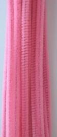 CE800700/7102- 20 stuks chenille draden van 30cm lang en 6mm dik roze