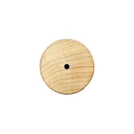 KN8696 307- 100 stuks houten wieltjes van 30x6mm