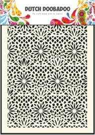 CE185071/5005- Dutch Doobadoo Dutch mask art stencil flower A5