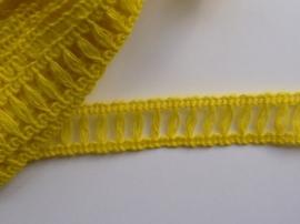 AZ115- 2 meter band geel van 1cm breed OPRUIMING -50%