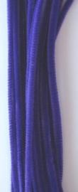 CE800700/7104- 20 stuks chenille draden van 30cm lang en 6mm dik lila