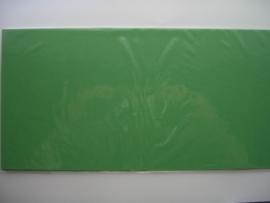 08155- 5 x luxe vierkanten kaarten linnenstructuur 13.5x13.5cm midden groen SPECIALE AANBIEDING