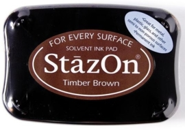 CE132005/6041- Stazon inktkussen SZ-000-041 timber brown