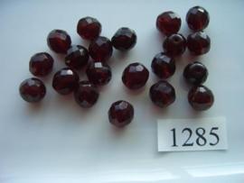 18 stuks ovaal 10 x 9 mm 1285