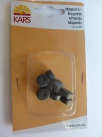 00116260/0002- 10 stuks sterke magneten van 12mm doorsnee en 6mm dik