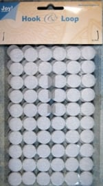 6500/0070- klitteband cirkels hook & loop 15mm