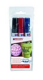 CE391455/9300- Edding-1455 kalligrafie marker flexibel punt 1-5mm assorti