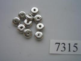 10 x discus 6x3mm 7315
