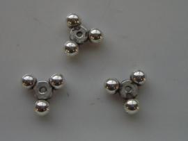 metalen tussenstukjes 9.5x9.5mm 117465/0619