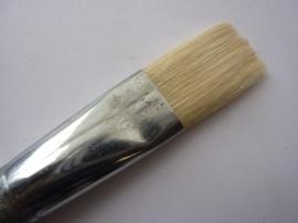 PS401- Gussow varkenshaar penseel van 2.5cm breed