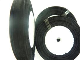 rol met 45.72 meter organzalint van 10mm breed zwart