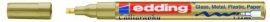 CE390753/0053- Edding-753 kalligrafie glanslak marker punt 1-2.5mm goud