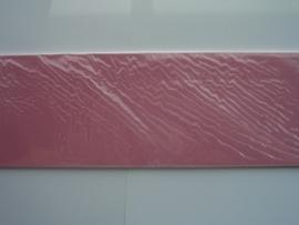 08176- 10 x langwerpige kaarten van Colorcore 9.7x31.5cm fel roze SPECIALE AANBIEDING