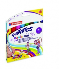 CE399900/1308- Edding funtastics magic fun assorti 8 kleuren - 3mm