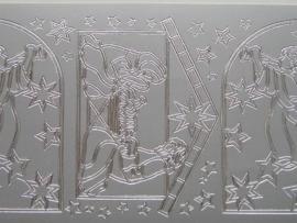 154- afbeelding ramen zilver 10x20cm