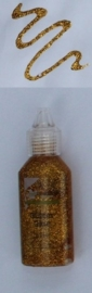 CE118577/0008- flesje kars glitterlijm goudgeel 20ML