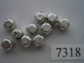10 x dobbelsteen 6.5x6.5mm 7318