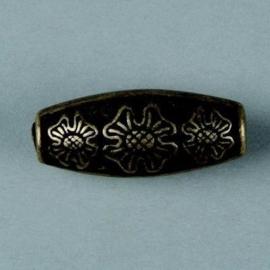 metalen kraal antiek goud 30x12mm 117465/2657
