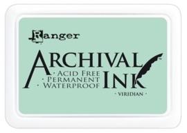 180002/0309- Ranger Archival ink coussin virdian