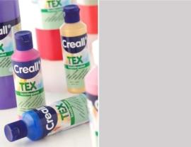 CE301900/0735- Creall Tex textielverf 80ML zilver