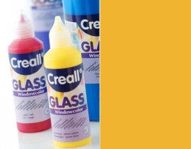 CE301800/0508- Creall Glass - glasstickerverf - window color - 80ML oranje