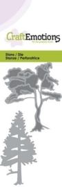 CE115633/0147- Craft Emotions Die 5x10cm bomen
