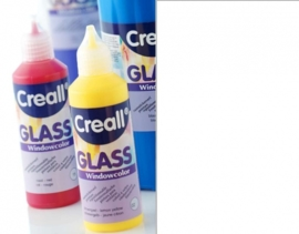 0-CE301801/0115- Creall Glass CONTOUR - glasstickerverf - window color - 80ML wit