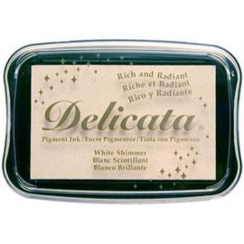 CE132024/0380- Delicata inktkussen white shimmer