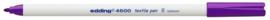 CE394600/0008- edding-4600 textielpen 1mm violet