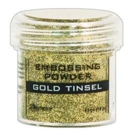 CE306320/1047- Ranger embossing powder 34ml - gold tinsel