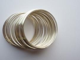meromy wire metaal spiraaldraad 1.2 mm extra dik  voor veerarmband ca. 30 wikkels - 117463/1002
