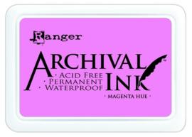 CE306010/0614- Ranger archival ink pad - magneta hue