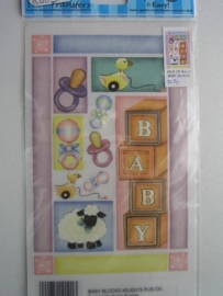 5024- baby Rub-on transfer