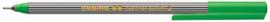 CE390055/0004- edding-55 fineliner met punt van 0.3mm groen