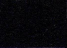 CE800300/0200- 10 vellen viltlapjes viscose van 20x30cm en 1mm dik zwart