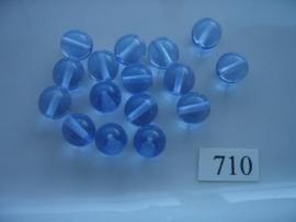 glaskralen 10mm rond 710