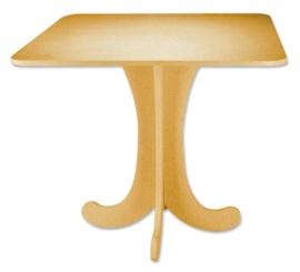 3271 120- MDF plateau / mini tafel 48x48x36cm