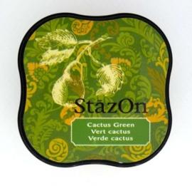 CE132021/4052- Stazon inktkussen midi cactus green SZ-MID-52