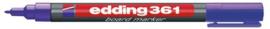 CE390361/0008- edding-361 boardmarker met punt van 1mm violet