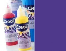 CE301800/0528- Creall Glass - glasstickerverf - window color - 80ML violet
