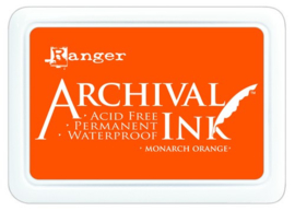 CE306010/1239- Ranger archival ink pad - monarch orange