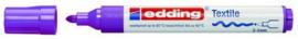CE394500/0068- edding-4500 textielmarker 2-3mm punt neon violet